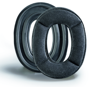 204069 - PROTOS®INTEGRAL EAR PROTECTOR SUPPORT PAD - COOLMAX SINGLE PAD FRONT & REAR VIEW